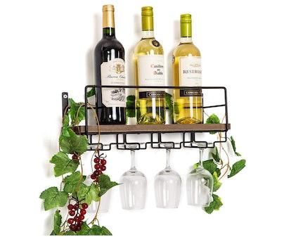 Soduku Wall Mounted Wine Rack