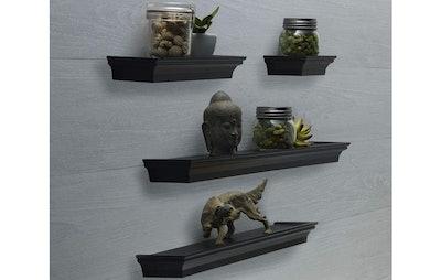 Melannco Floating Ledge Shelves (Set Of 4)