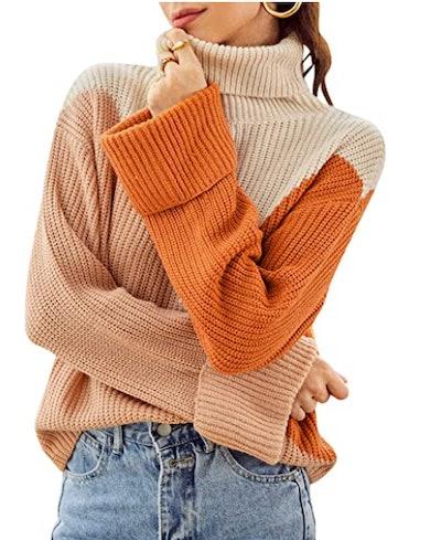 BerryGo Turtleneck Sweater
