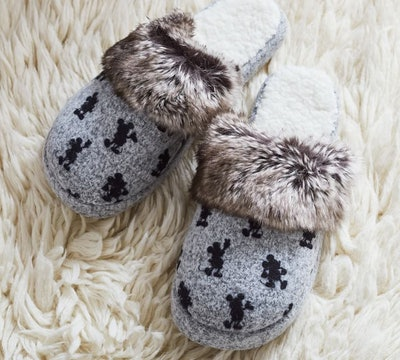Mickey Mouse Sherpa Slippers