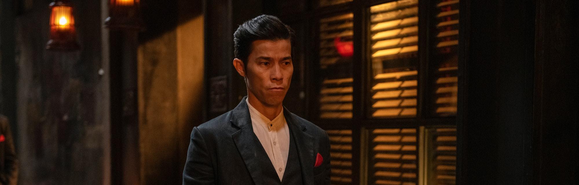 """Jason Tobin, as """"Young Jun"""" in 'Warrior' Season 2."""
