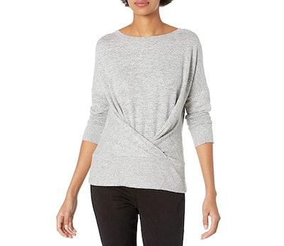 Daily Ritual Pleated Sweatshirt