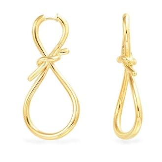 Knot Dropping Earrings