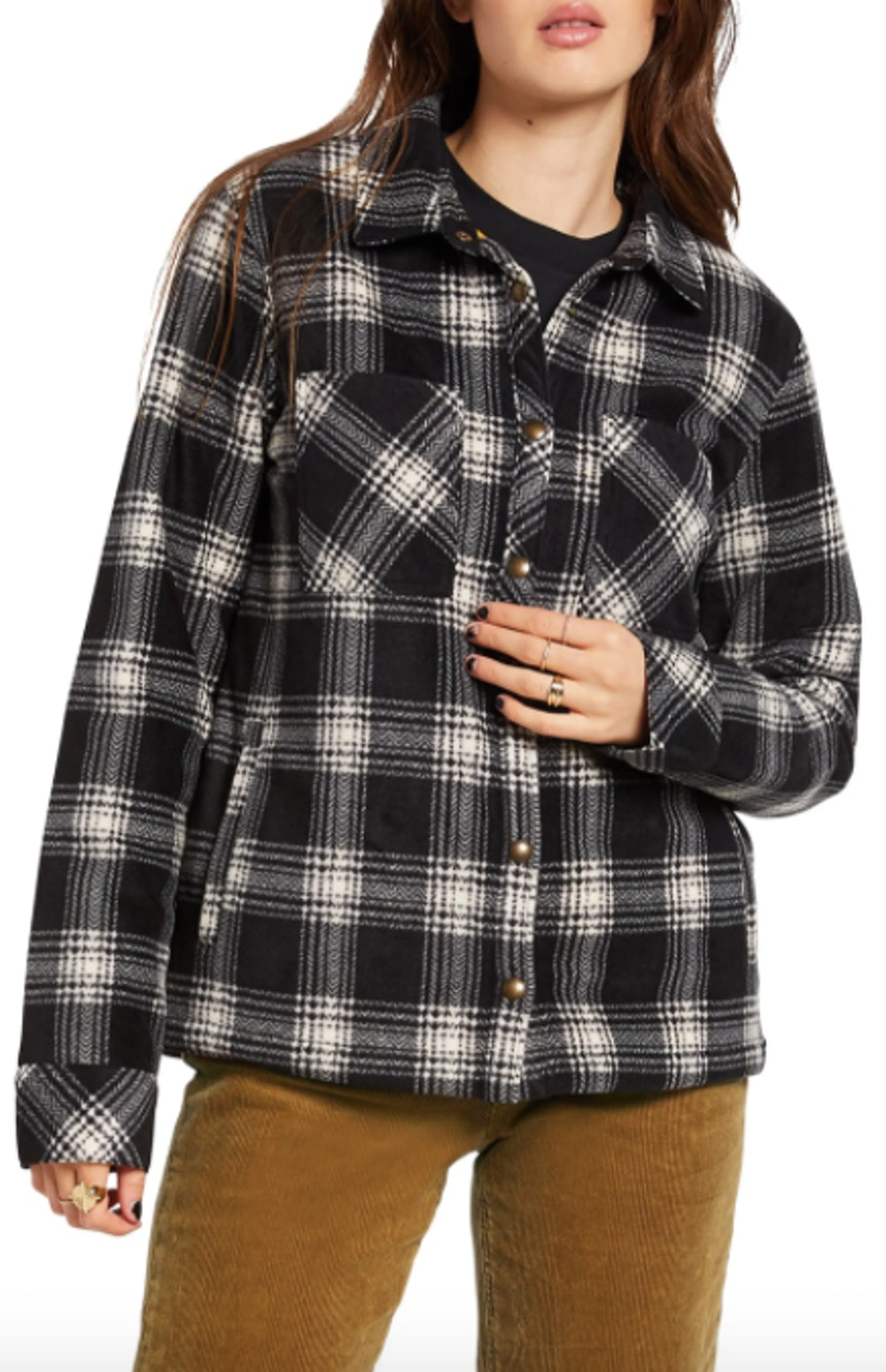 Plaid Dreams Shirt Jacket
