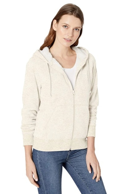 Amazon Essentials Sherpa-Lined Hooded Jacket
