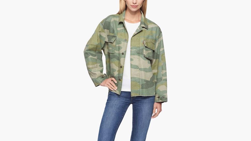 High Low Shirt Jacket