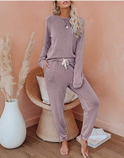 Eurivicy Solid Sweatsuit