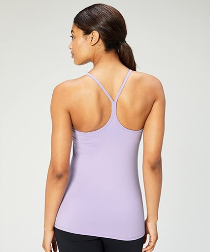Core 10 Racerback Yoga Tank With Built-In Support