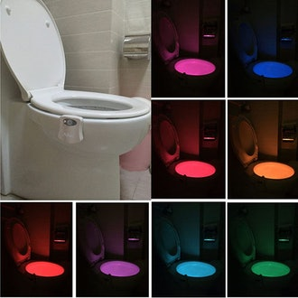Ailun Motion Activated LED Toilet Night Light (2-Pack)