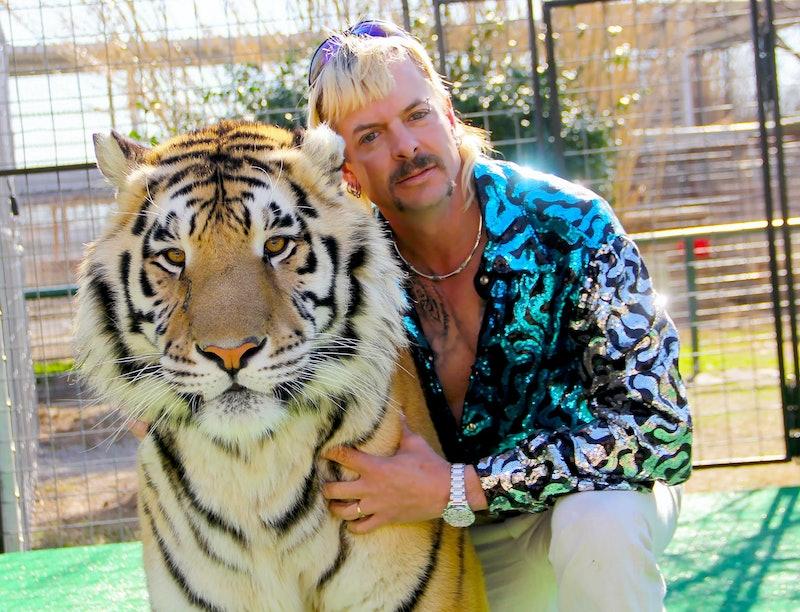 Joe Exotic in Tiger King via the Netflix press site