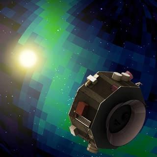 NASA's illustration of the IMAP.