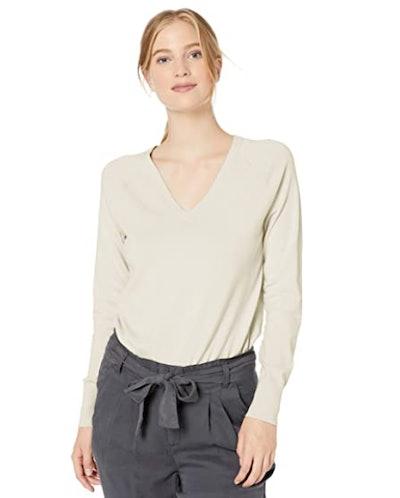Daily Ritual V-Neck Pullover Sweater