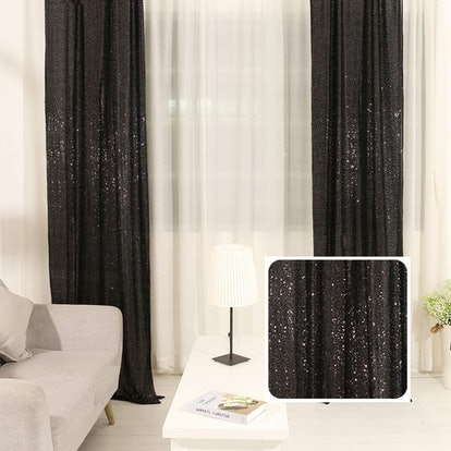 TRLYC Sequin Panel Curtain