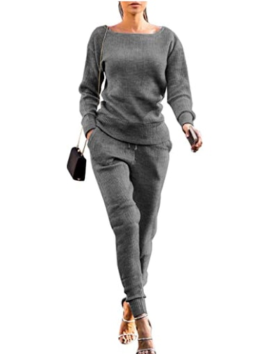 VNVNE Rib-Knit Sweater