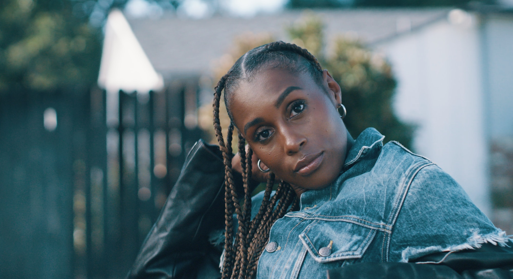 Issa Rae, star of 'Insecure,' for Bustle's Rule Breakers 2020 issue