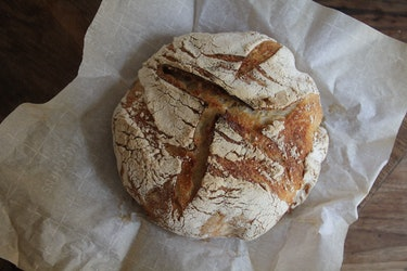 rustic sourdough loaf
