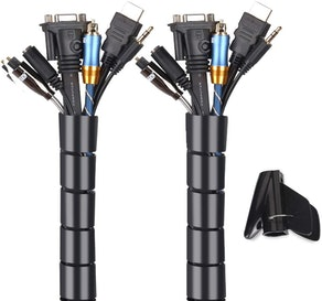 MOSOTECH Cable Management Sleeves (2-Pack)