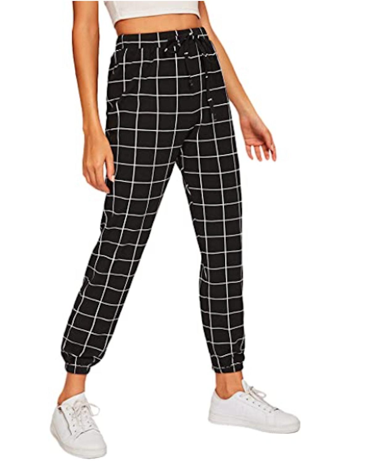 SweatyRocks High Waist Pants