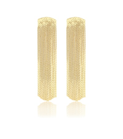Grand Fil d'Or Gold-Plated Earrings