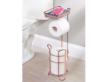 mDesign Toliet Paper Stand
