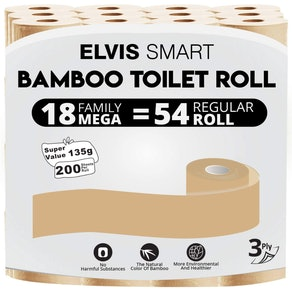 Elvis Smart Bamboo Toilet Paper (18-Pack)