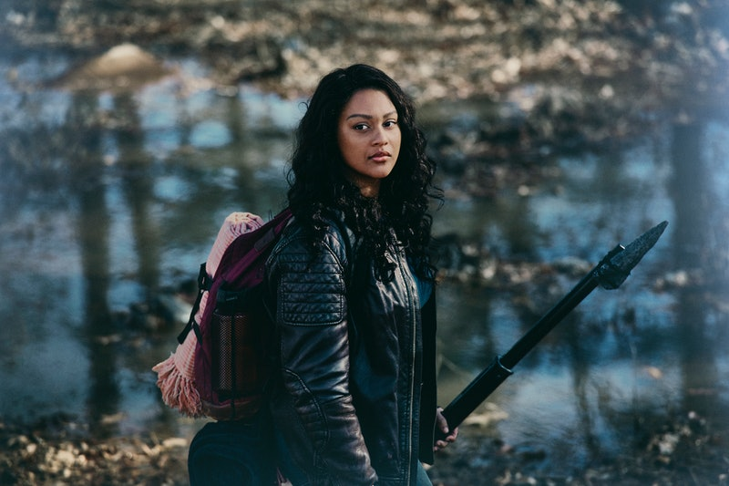 Aliyah Royale, who plays Iris on 'Walking Dead: World Beyond' via the AMC press site.