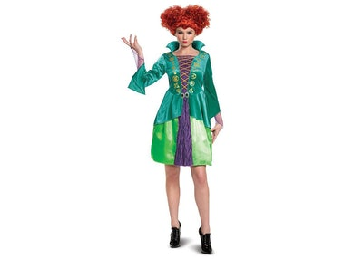 Hocus Pocus Winifred Sanderson Halloween Costume Dress