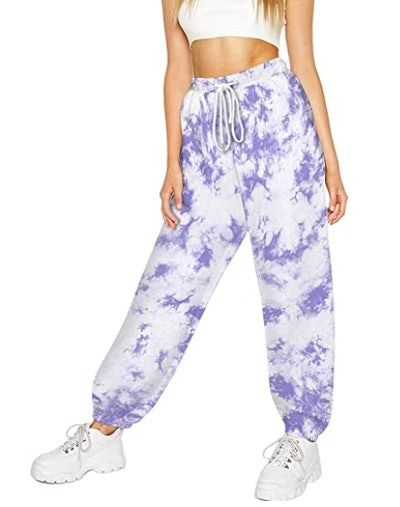 LATUD Jogger Sweatpants With Pockets