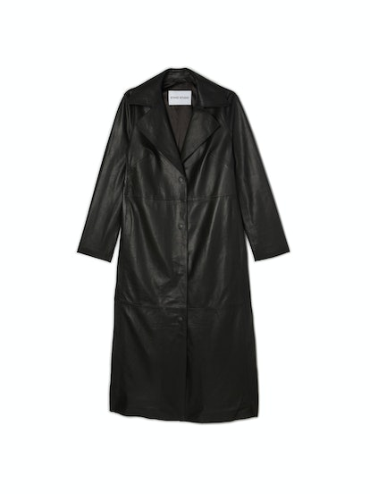 Melissa Long Leather Coat