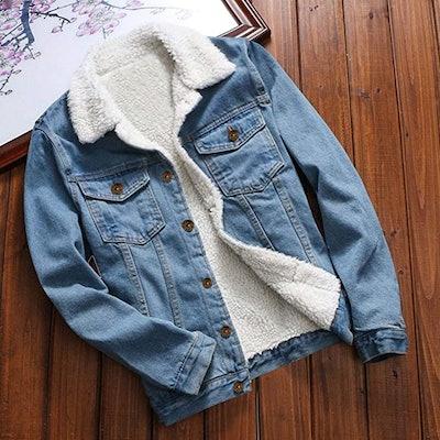 TOTOD Denim Coat Jean Jacket