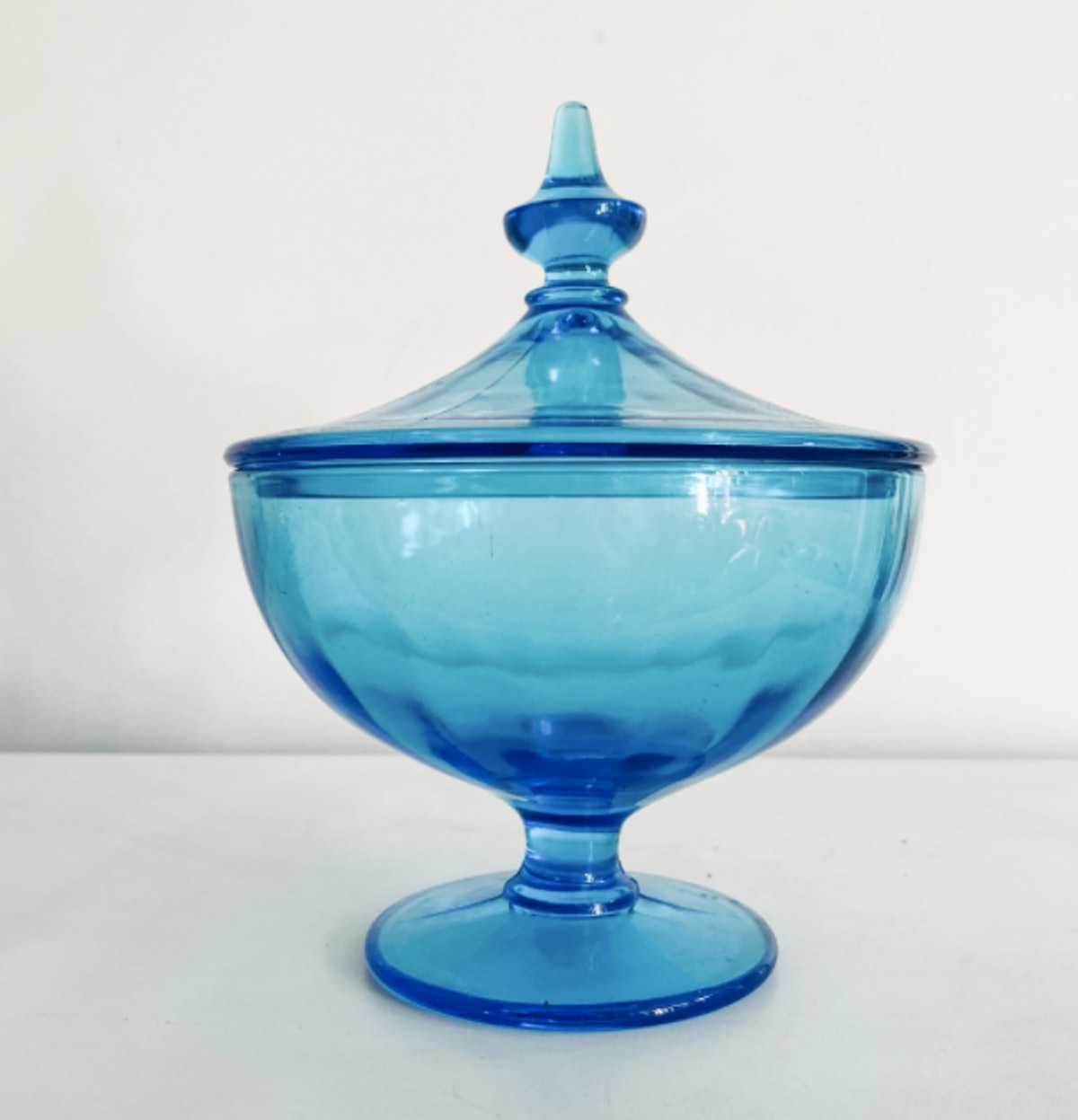 Blue Glass Stasher