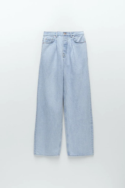 Z1975 WIDE LEG JEANS WITH DARTS