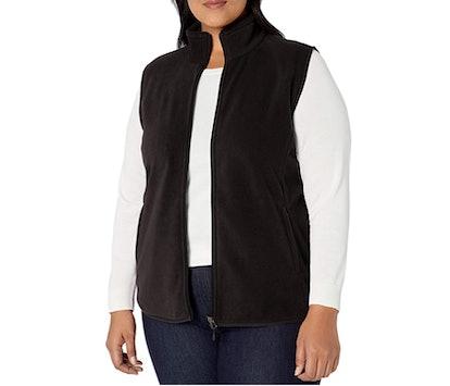 Amazon Essentials Plus Size Fleece Vest