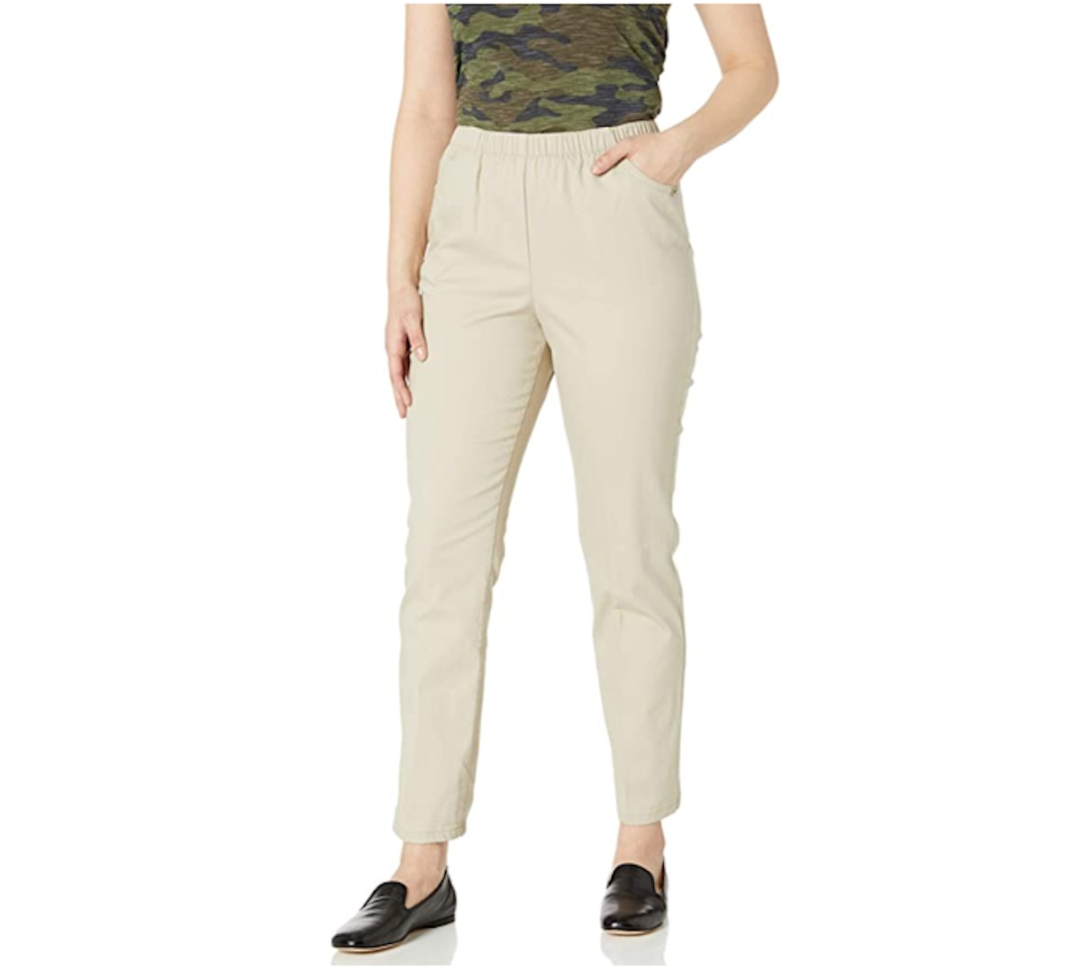 Chic Classic Collection Elastic Pants