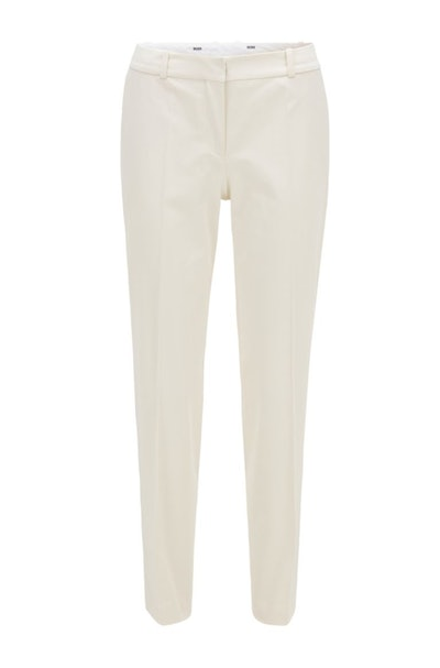 Relaxed-Fit Pants In Stretch Cotton