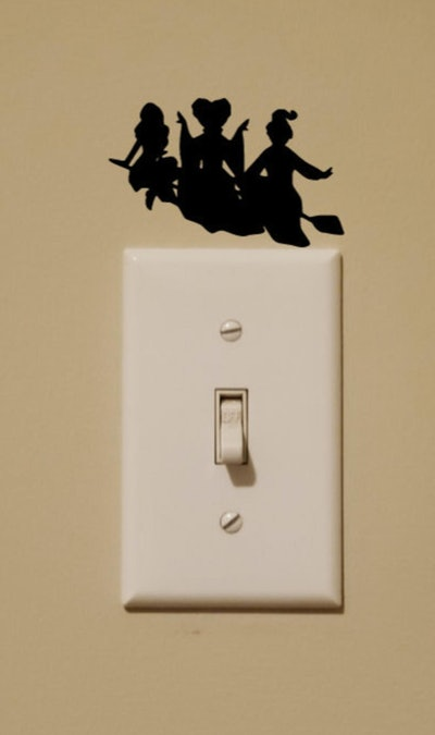 Hocus Pocus Sanderson Sisters Light Switch Wall Decal