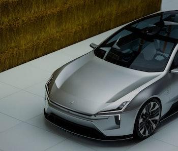 Polestar Precept electric car.
