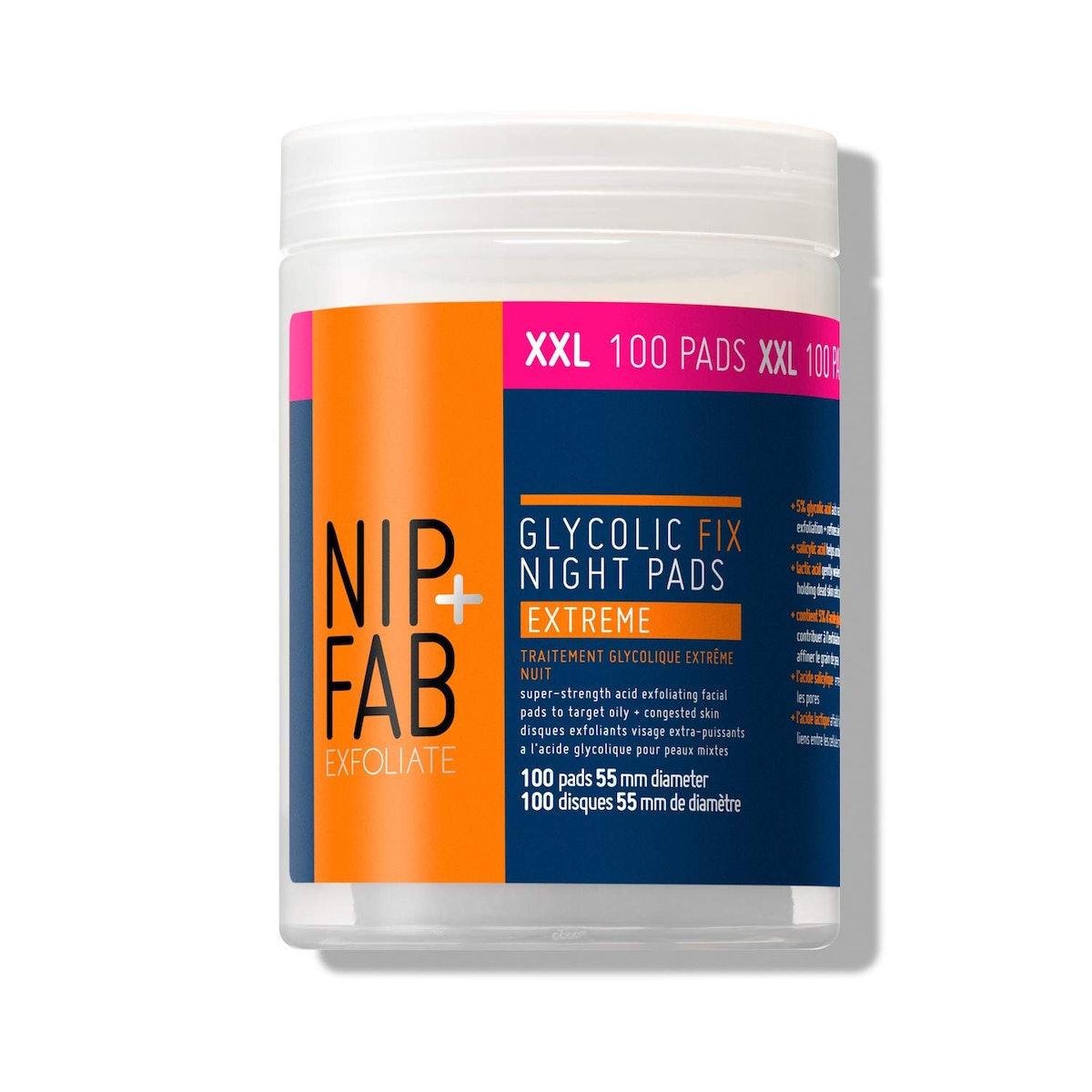 Nip + Fab Glycolic Fix Night Pads Extreme