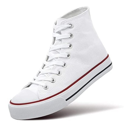 ZGR Womens High Top Canvas Sneakers