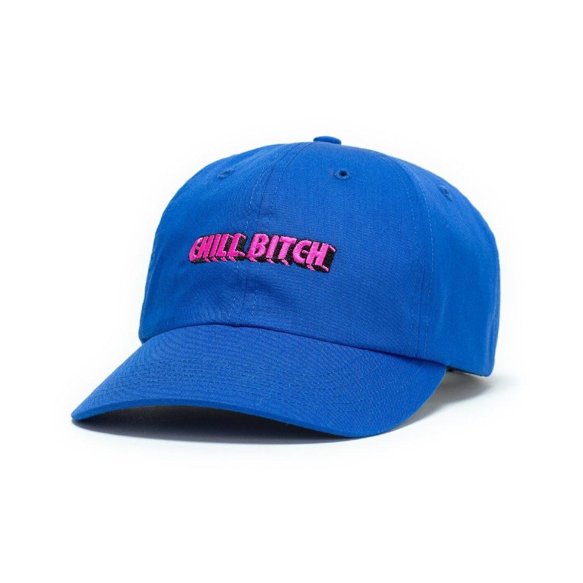 CHILL B*TCH BLUE DAD HAT