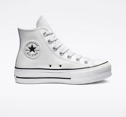 Converse Clean Leather Platform Chuck Taylor All Star