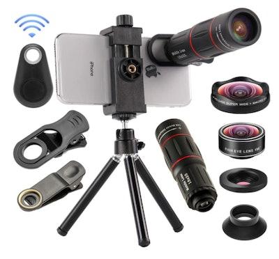 4-in-1 Cell Phone Camera Lenses Kit