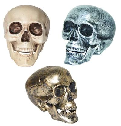 Assorted Plastic Skull