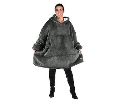 Catalonia Sherpa Sweatshirt Blanket