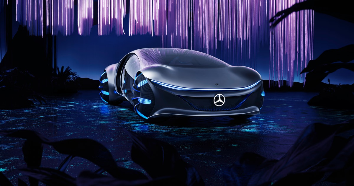 The Mercedes-Benz AVTR Vision was pure fantasy but now it's real
