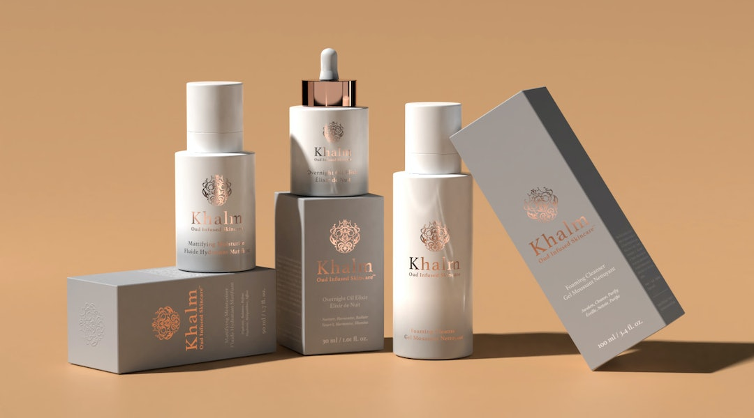 Khalm Skincare incorporates a special ingredient called oud.