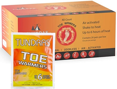 Tundras Toe Foot Hot Warmers (40-Pack)