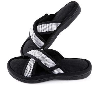 ULTRAIDEAS Cross Band Slippers