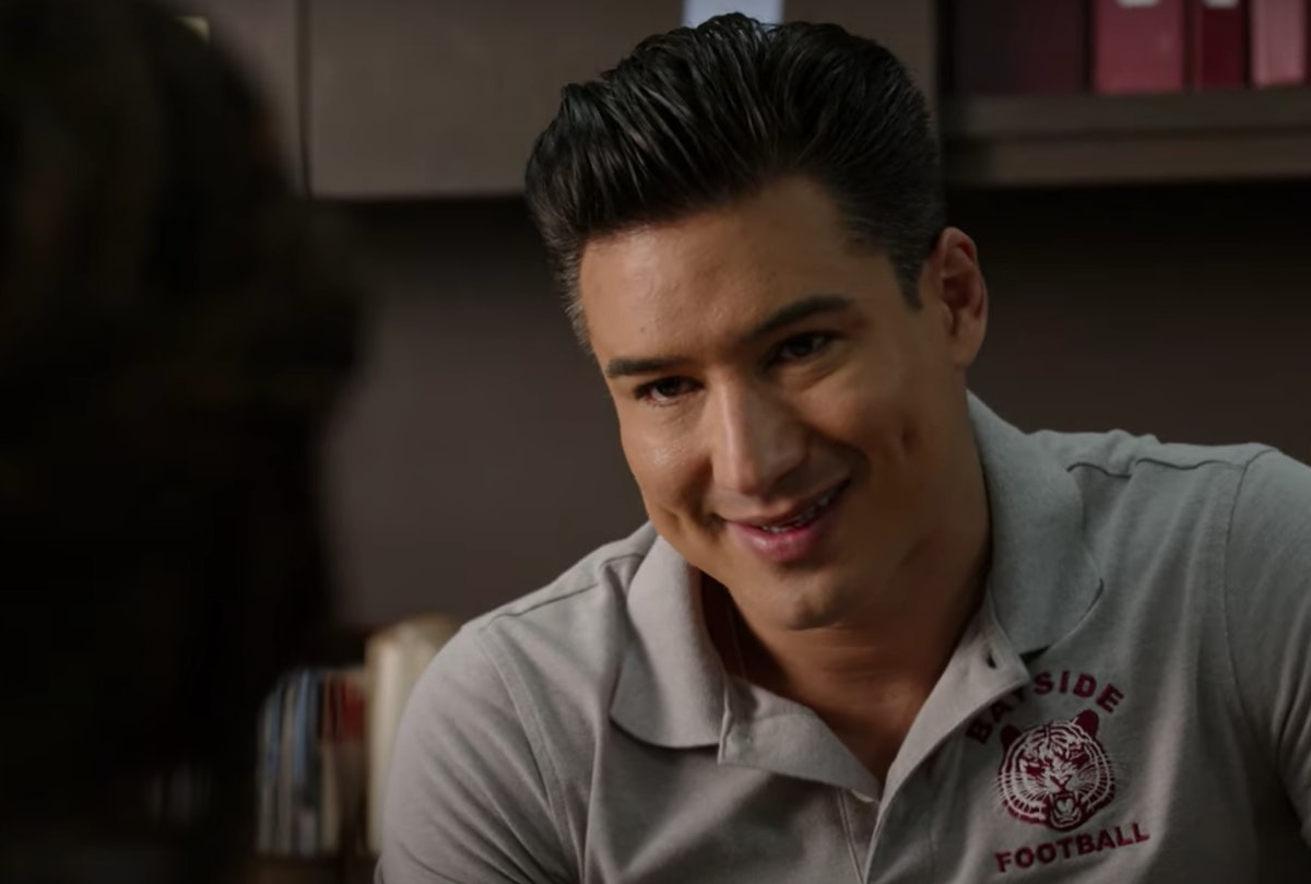 Mario Lopez in the 'Saved By The Bell' Reboot