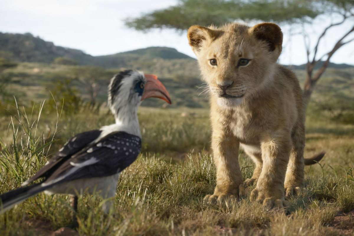 live-action 'The Lion King'